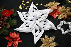 3d Paper Snowflake How To Make A 3d Paper Snowflake 13 Steps With Pictures