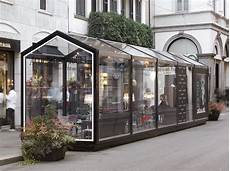 gazebo esterno per bar glass house strutture espositive per esterno collection by