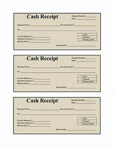 Reciept Templet 6 Cash Payment Receipt Templates Word Excel Formats