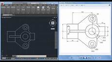 Autocad Utility Design Download 2d Autocad Practice Drawing Youtube