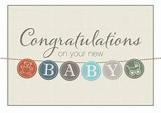 Congrats Baby Card Baby Buttons Congrats Card Birth Congratulations From