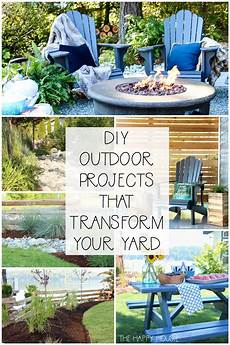 diy outdoor projects to transform your yard the happy housie