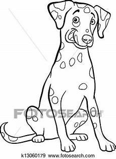 Ausmalbilder Hunde Dalmatiner Clip Dalmatiner Hund Karikatur F 252 R Ausmalbilder