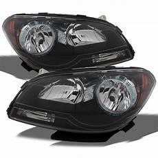 2012 Chevy Malibu Lights Fit 2008 2012 Chevy Malibu Black Headlights Light Left