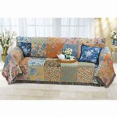 Patchwork Sofa Cover 3d Image by Vintage Patchwork Sofa Cover Diy Home Sof 225 S