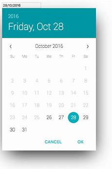 Angular Material Design Datepicker Vue Material Datepicker Npm