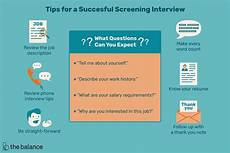 Should I Call After An Interview What Is A Screening Interview