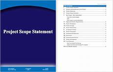 Project Scope Template Word Project Scope Statement Template Word Templates For Free