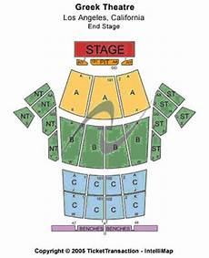 Greek Theater Chart Greek Theater Seating Chart Check The Seating Chart Here