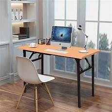 Desk Office Giantex Portable Folding Computer Desk Pc Laptop Table
