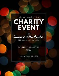 Charity Event Flyer Templates Free Copy Of Charity Event Flyer Postermywall