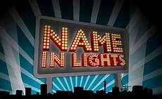 Name In Lights Generator Innovative Writing Businesses Get Kids Published And Co