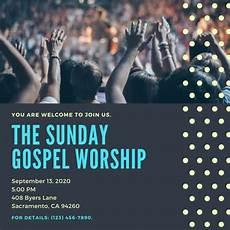 Church Invitations Customize 37 Church Invitation Templates Online Canva