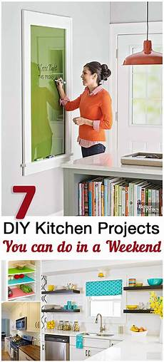 top 5 kitchen weekend diy projects sunlit spaces