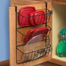 spectrum diversified the cabinet 3 tier lid holder