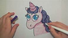Cute Drawlings Learn How To Draw A Cute Pink Unicorn Icanhazdraw