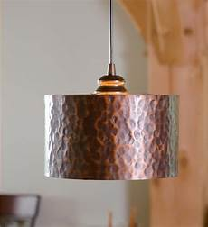Copper Drum Light Fixture Screw In Hammered Copper Drum Pendant Shade 79 95 From