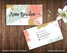 Blank Name Card Template Name Card Template Business Card Templates Creative Market