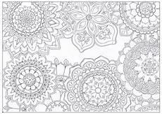 Malvorlagen Blumen Mandala Mandala Flowers Coloring Page Favecrafts
