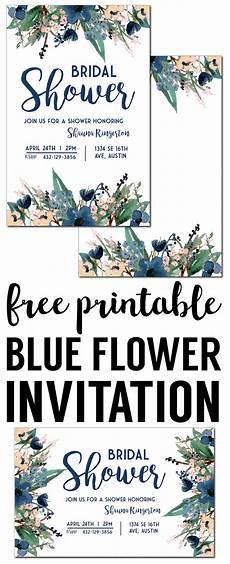 Design Printable Invitations Blue Free Printable Invitation Templates Paper Trail Design
