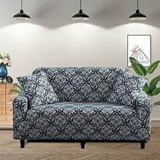 Lamberia Sofa Slipcover 3d Image by Lamberia Printed Sofa Cover Stretch Cover 3 Seater