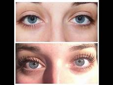 lvl lashes before after