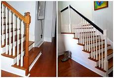 simple staircase makeover emily a clark