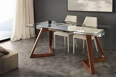 tavoli allungabili in legno tavolo con piano in vetro allungabile idfdesign
