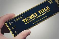 Tickets Design 25 Inspiring Examples Of Creative Ticket Designs Psd