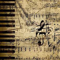 Music On Paper Music Notes On Old Paper Sheet Stock Image Colourbox
