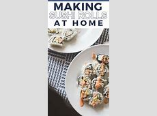 How to Make Sushi At Home   Family Fun Night with Kids