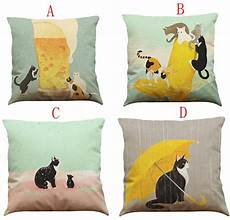 43 43cm cushion cover cat sofa bed home decoration