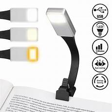 led reading light for books in bed at usb
