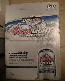 60 Cans Coors Light Page 6 Redflagdeals Com Forums