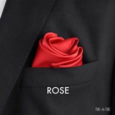 Rose Folding Rose Pocket Square Fold Tie A Tie Net