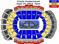Target Center Seating Chart Carrie Underwood Seating Charts Sprint Center