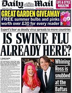 daily daily mail thread swine flu hypocrisy edition