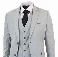 Light Grey 3 Piece Suit Mens 3 Piece Light Grey Suit Blazer Waistcoat Trouser