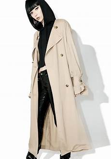 cheap trench coats for cheap monday flavor trench coat dolls kill