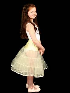 childrens tiered net petticoat