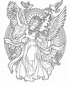 Kostenlose Malvorlagen Engel Realistic Coloring Pages At Getcolorings Free