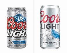 What Kind Of Is Coors Light New Logo And Packaging For Coors Light By Turner Duckworth