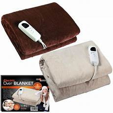 glowmaster warm heated electric throw blanket cozy comfort