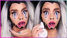 makeup face melting makeup tutorial illusion makeup