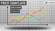 Charts And Graphs Templates Line Chart Prezi Template Prezibase