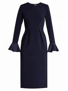sleeve chiffon dress izumi roksanda margot bell sleeved crepe dress roksanda cloth