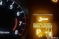 Mitsubishi Dashboard Warning Lights Understanding The Mitsubishi Routine Maintenance Required