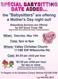 Babysitting Pamphlets Babysitting Flyers Bing Images Babysitting Flyers