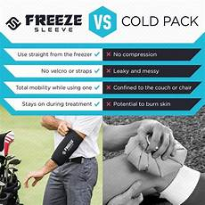 freeze sleeve cold therapy compression sleeve freeze sleeve cold therapy compression sleeve reusable