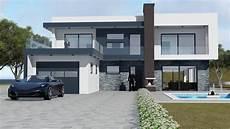 Luxury Modern Homes 3d Model Luxury Modern House Cgtrader